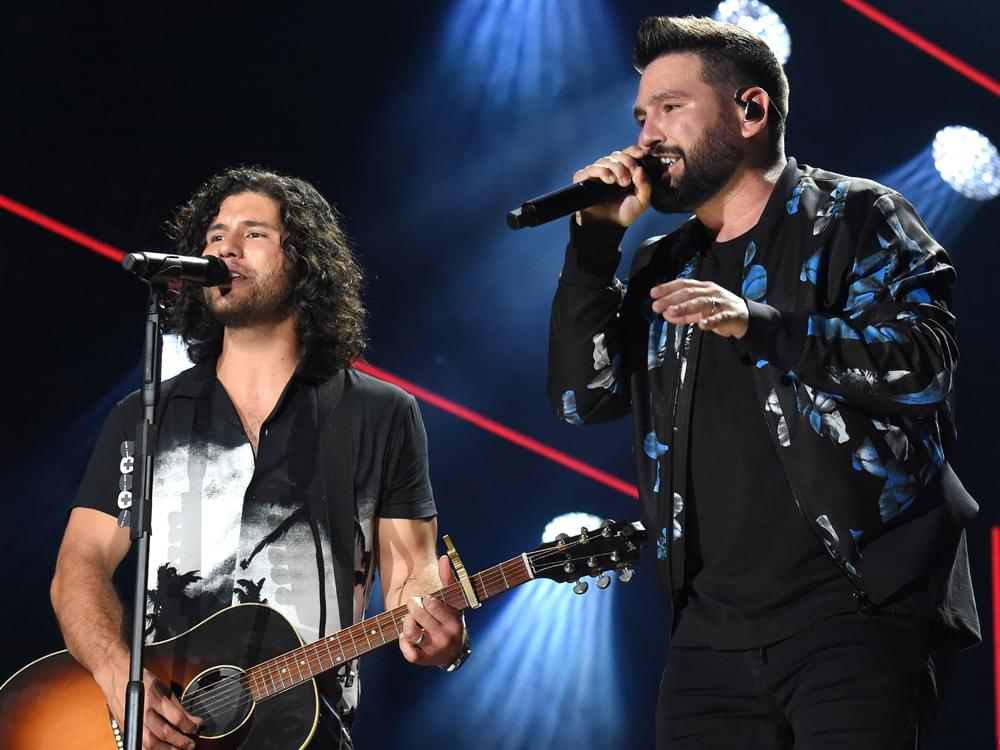 """Dan + Shay Score 6th No. 1 Single With """"All to Myself"""""""