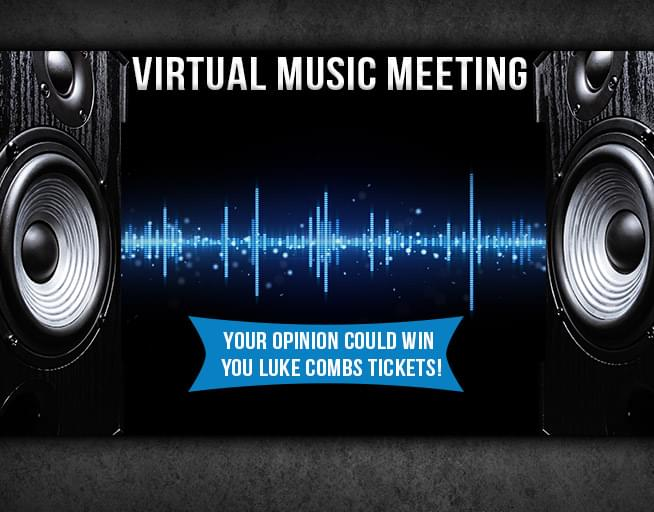 Virtual Music Meeting: Luke Combs Giveaway!