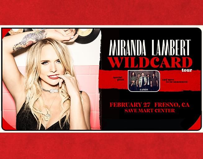 February 27: Miranda Lambert