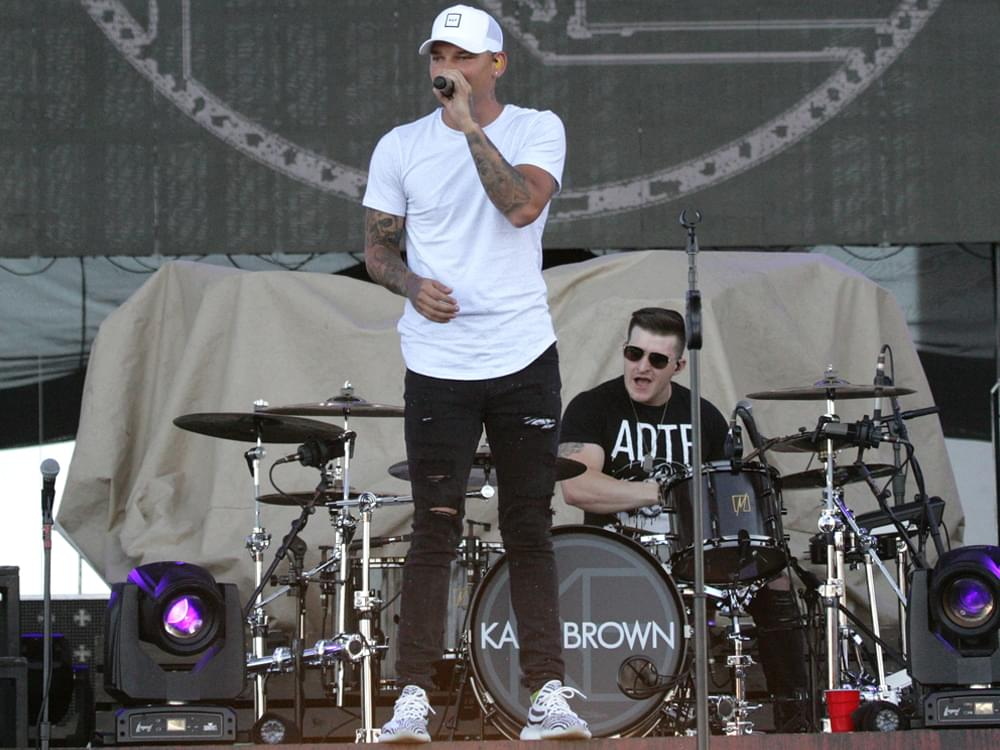 "Kane Brown's Drummer, Kenny Dixon, Dies in Auto Accident: ""Love You So Much,"" Says Kane"