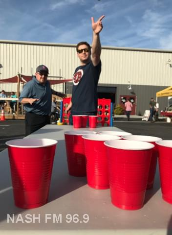 Beer Pong at Rusty Bull Brewing Co.