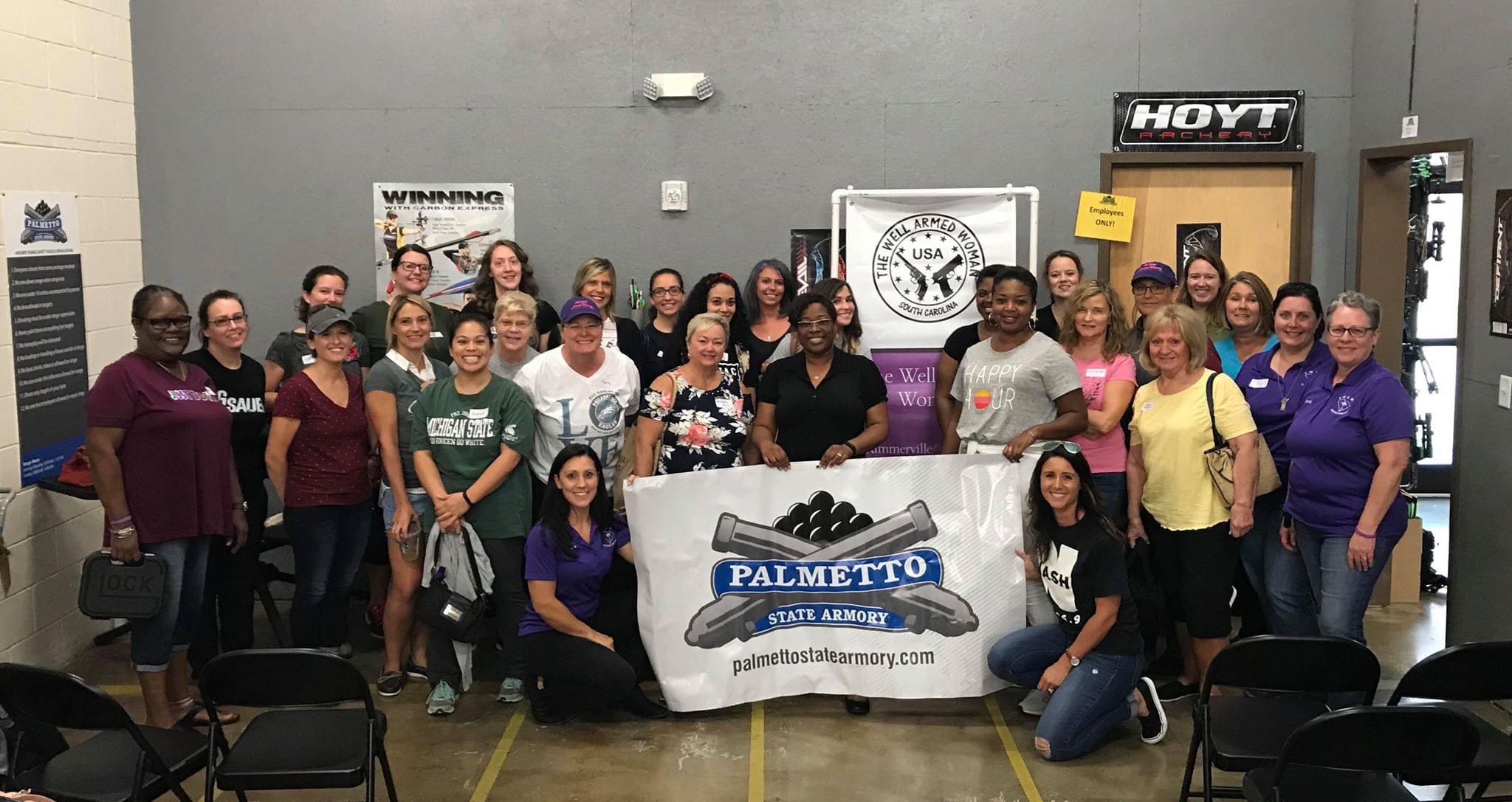 8/22 Ladies Night At Palmetto State Armory