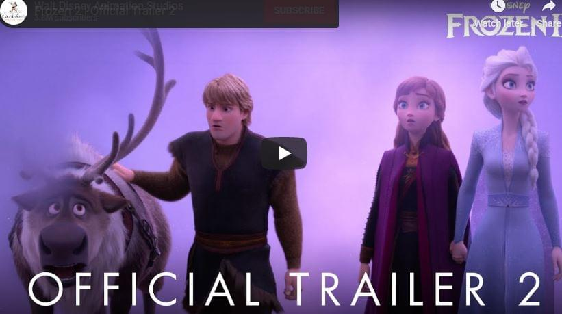 Watch: Frozen 2 Trailer II