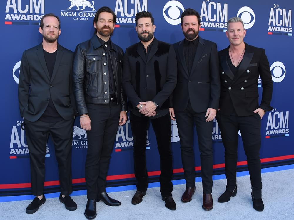 """Old Dominion Scores 6th No. 1 Hit on the Billboard Country Airplay Chart With """"Make It Sweet"""""""