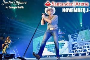 Justin Moore at Santander Arena