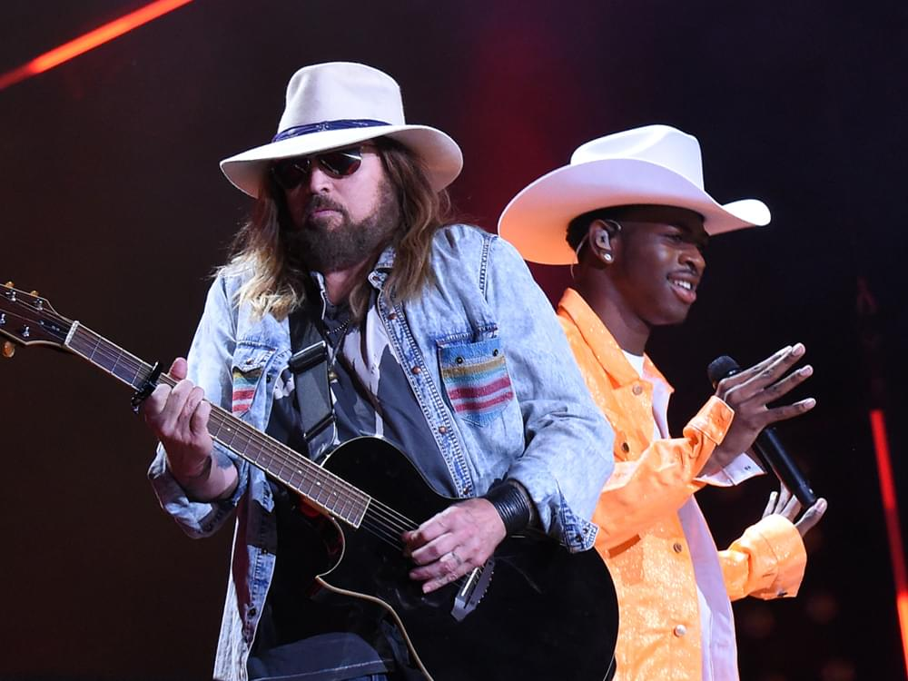 """Lil Nas X & Billy Ray Cyrus Win Two BET Hip Hop Awards for """"Old Town Road"""""""