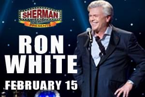 CatCountry96 Welcomes Ron White to Sherman Theater