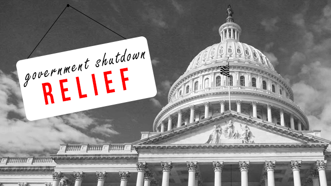Government Shutdown Relief for Southern New Englanders