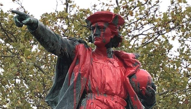 PODCAST: Providence City Councilor Kerwin says she supports the vandalism of Columbus statue