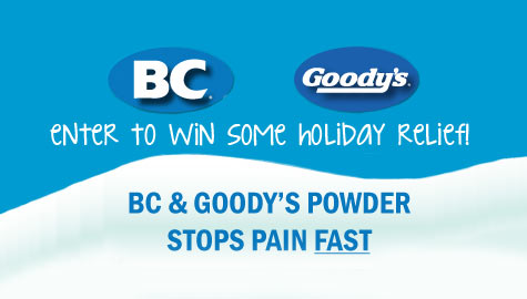 Holiday Relief from BC/Goody's!