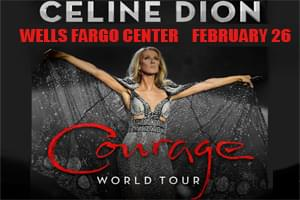 100.7 LEV Welcomes Celine Dion to the Wells Fargo Center