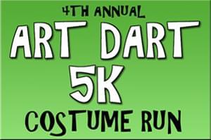 Art Dart Costume Run