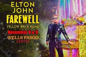 Elton John at the Wells Fargo Center November 8 & 9