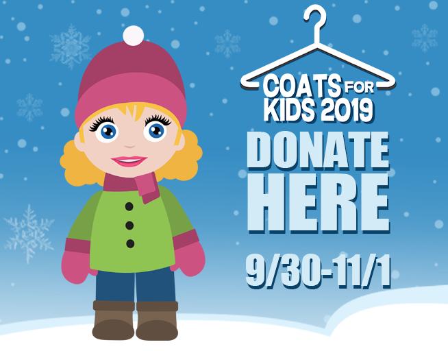 Coats for Kids 2019