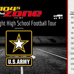 104-5 The Zone's Friday Night High School Football Tour