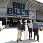 """""""BIG BILL'S"""" Open Air Social Club Unveiled to Honor Talladega Superspeedway  Builder & Founder of NASCAR, Bill France Sr."""
