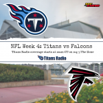 Titans vs Falcons Week 4 Primer