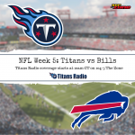 Titans vs Bills: Game Day Information