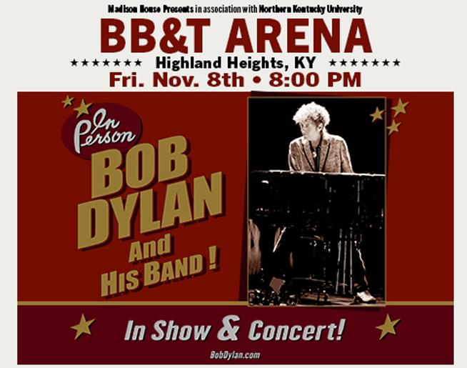 Win Bob Dylan Tickets!
