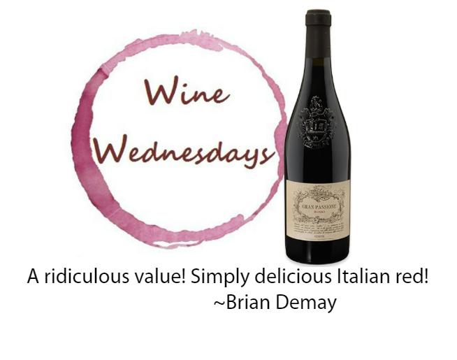 Brian's Wine Wednesday: Gran Passione Rosso