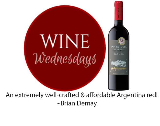 Brian Demay's Wine Wednesday: Santa Julia Mountain Blend