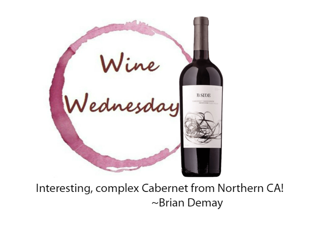 Brian Demay's Wine Wednesday: B-Side Cabernet Sauvignon