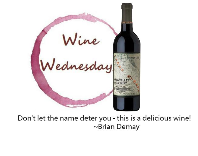 Brian Demay's Wine Wednesday: Carne Humana
