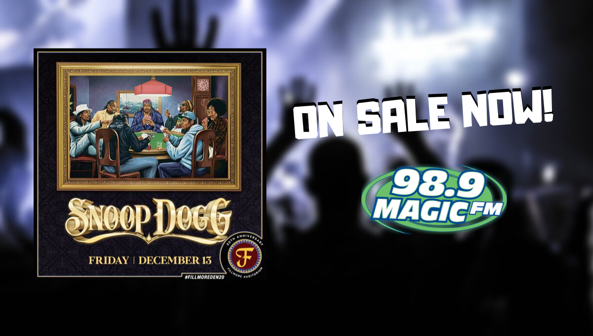 Snoop Dogg Concert JUST ANNOUNCED!