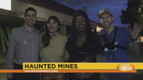 Screaming Queens at Haunted Mines and Hellscream!