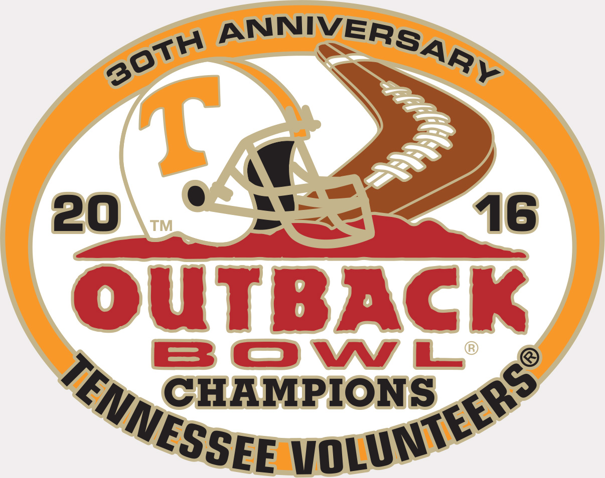 Congratulations to the 2016 Outback Bowl Champions!