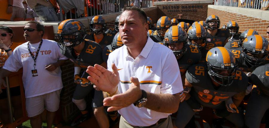 Vols Favored by a Field Goal Over Georgia Tech