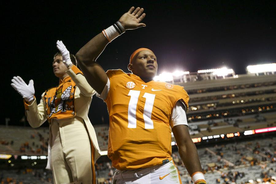 Dobbs to Guarantano: 'Learn From Your Mistakes'