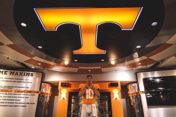 QB Maurer Hopes to Bring a Championship to Tennessee