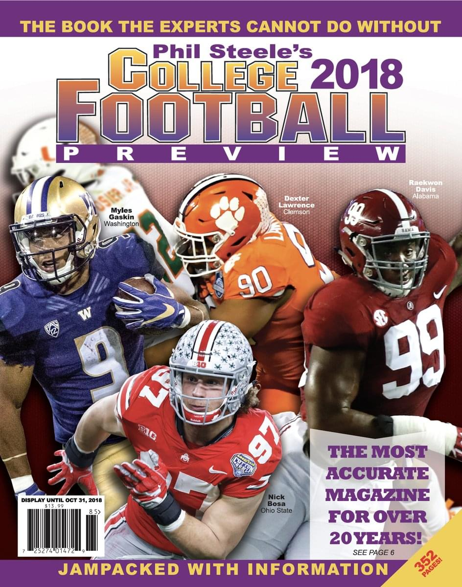 Phil Steele Sees Talent That Can Help Tennessee This Year