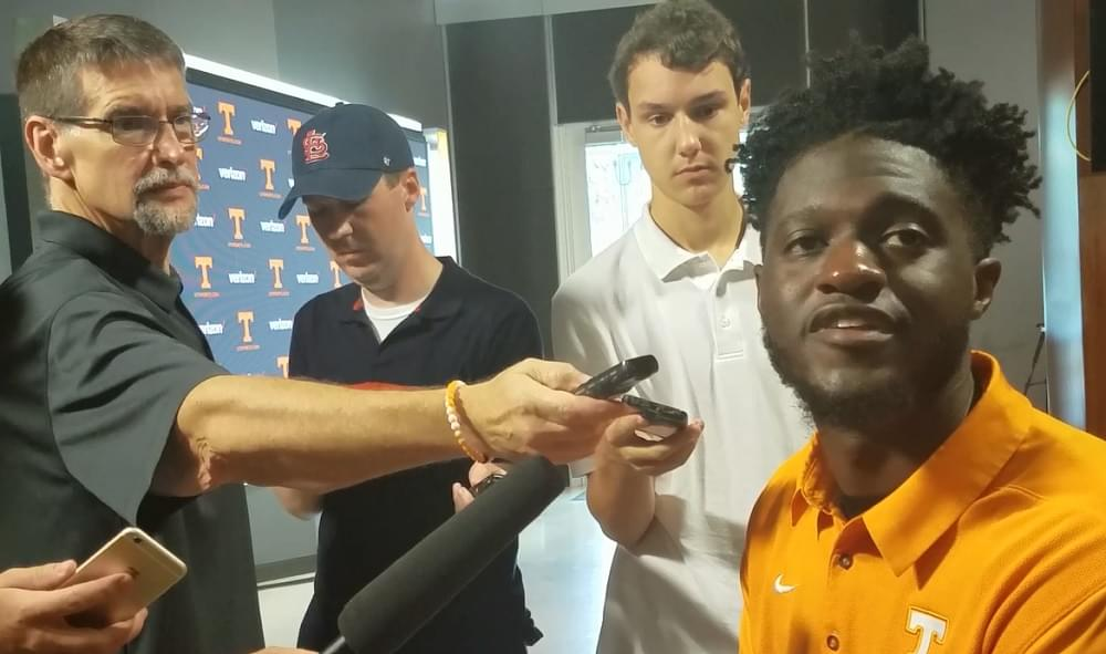 Video: Brandon Johnson says team doesn't have yo-yo of emotions like before