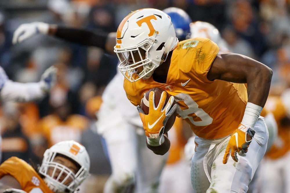 Week 12 SEC score predictions including Vols/Tigers