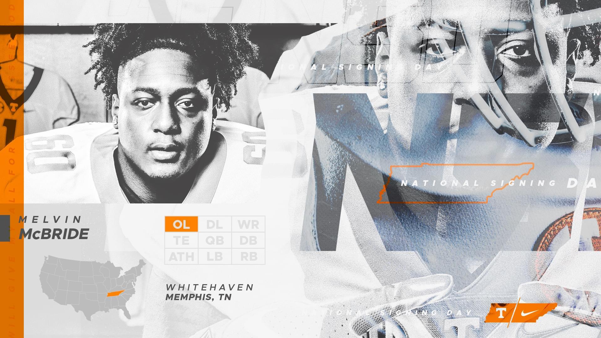 Vols 2019 class signee 9 – OL Melvin McBride