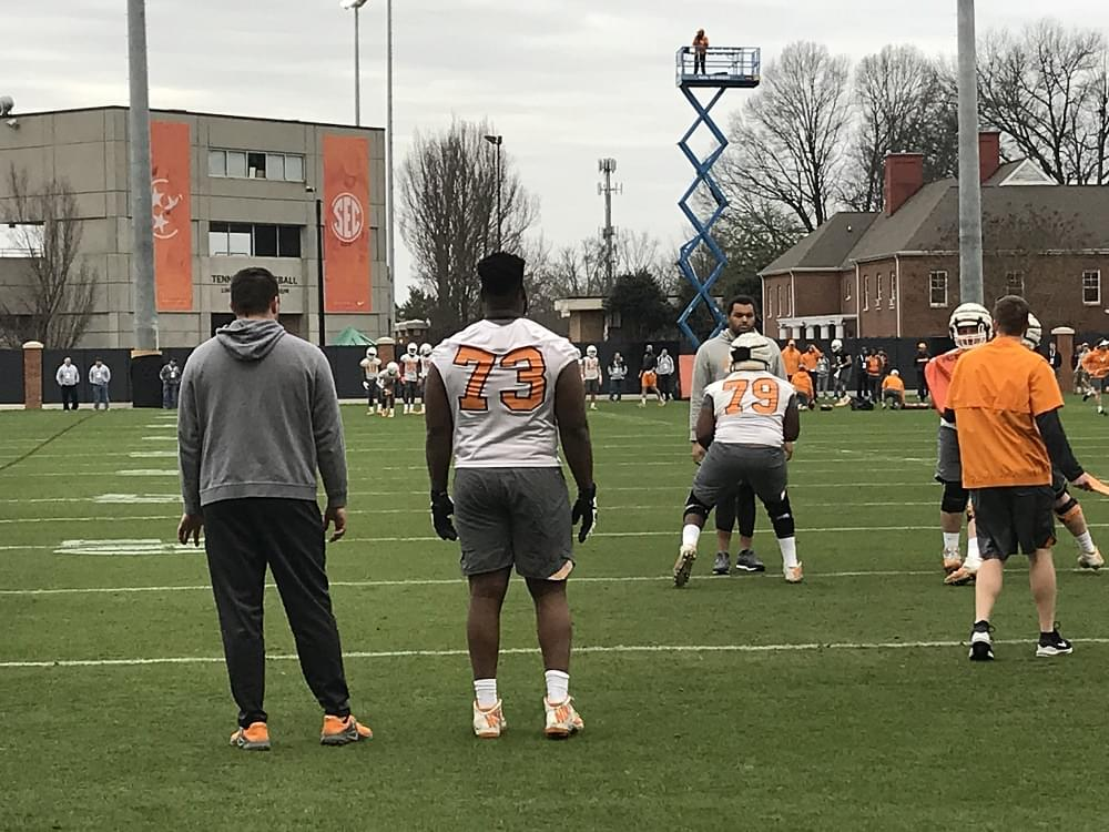 UT Football Spring Practice 1 – Views, Notes, Weight Gains, New Positions and Numbers