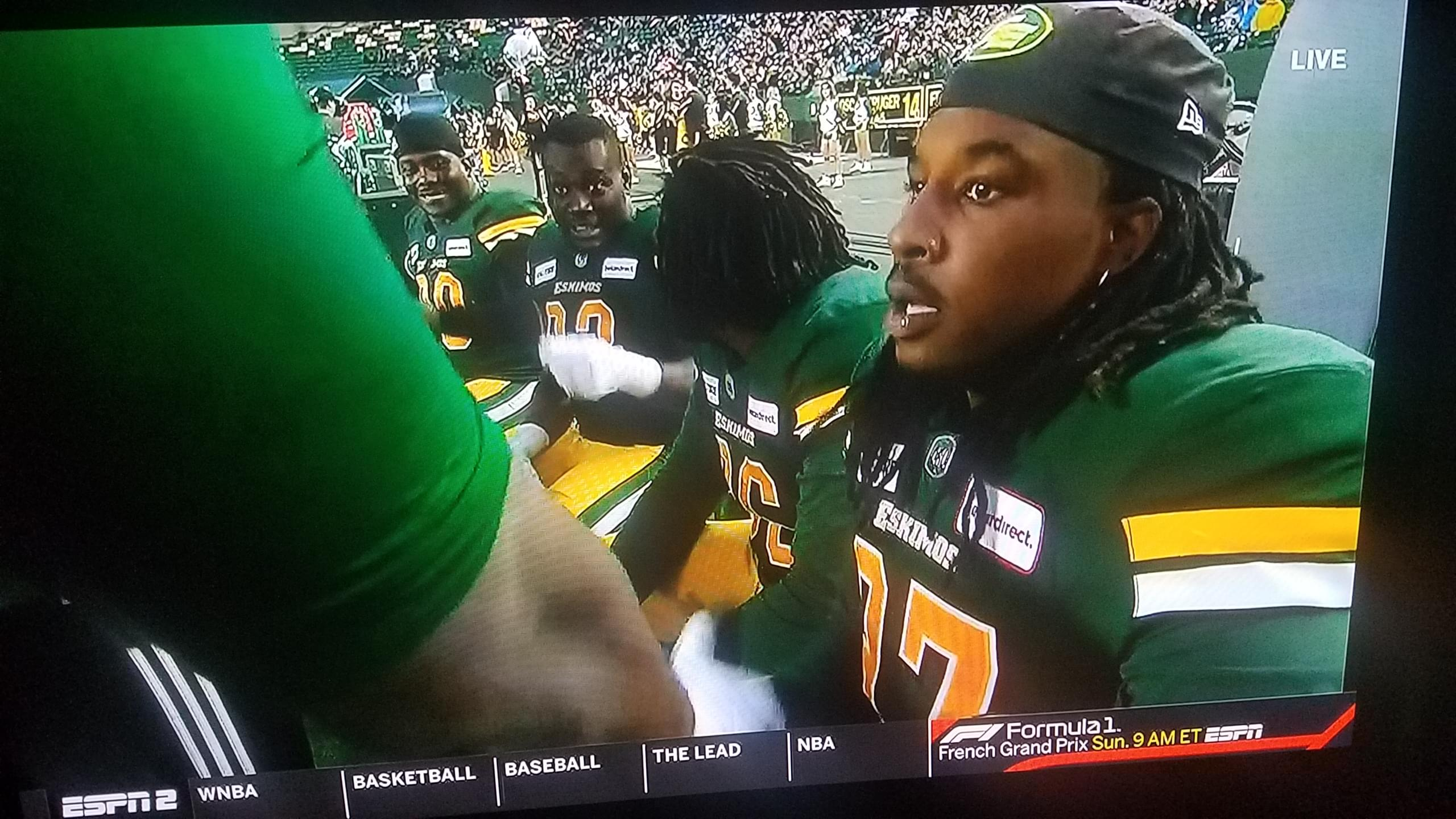 Two recent VFLs playing in the CFL in 2019