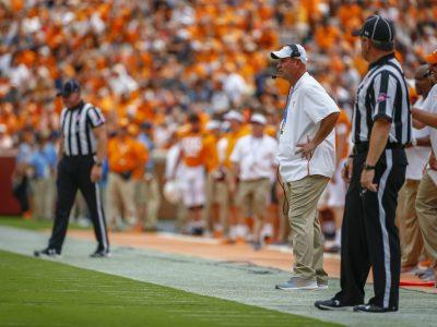 KNOXVILLE, TN - 2018.09.08 - Tennessee vs. ETSU