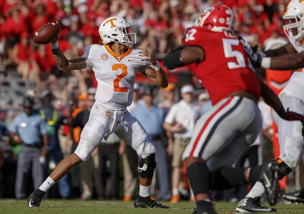 Inside the numbers on UT's last 18 SEC games, Pruitt and Guarantano