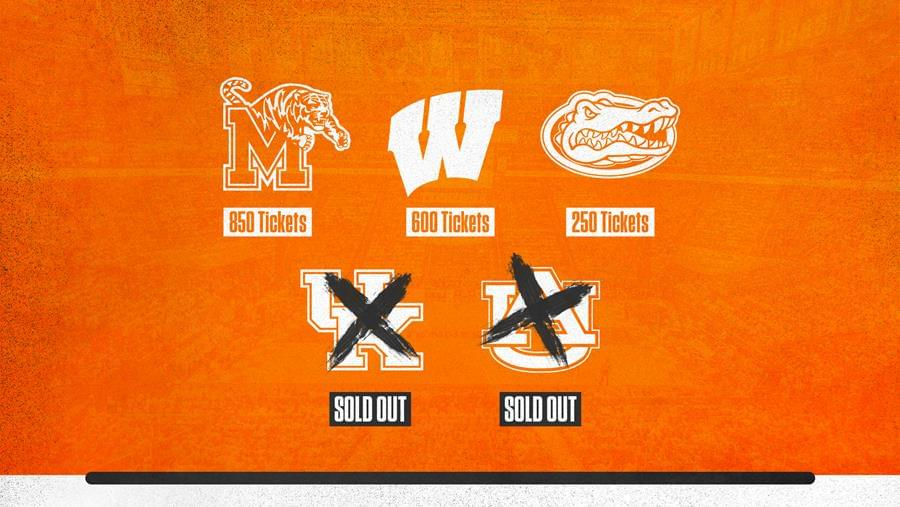 Two Men's Basketball Games Already Sellouts