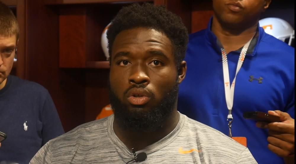 """Video: Butler on MSU RB Hill """"He's a good player. We need to get him on the ground."""""""