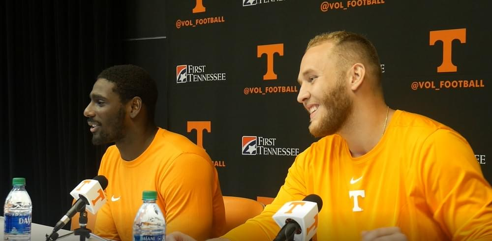 Video: Byrd and Cimaglia in postgame after win over MSU