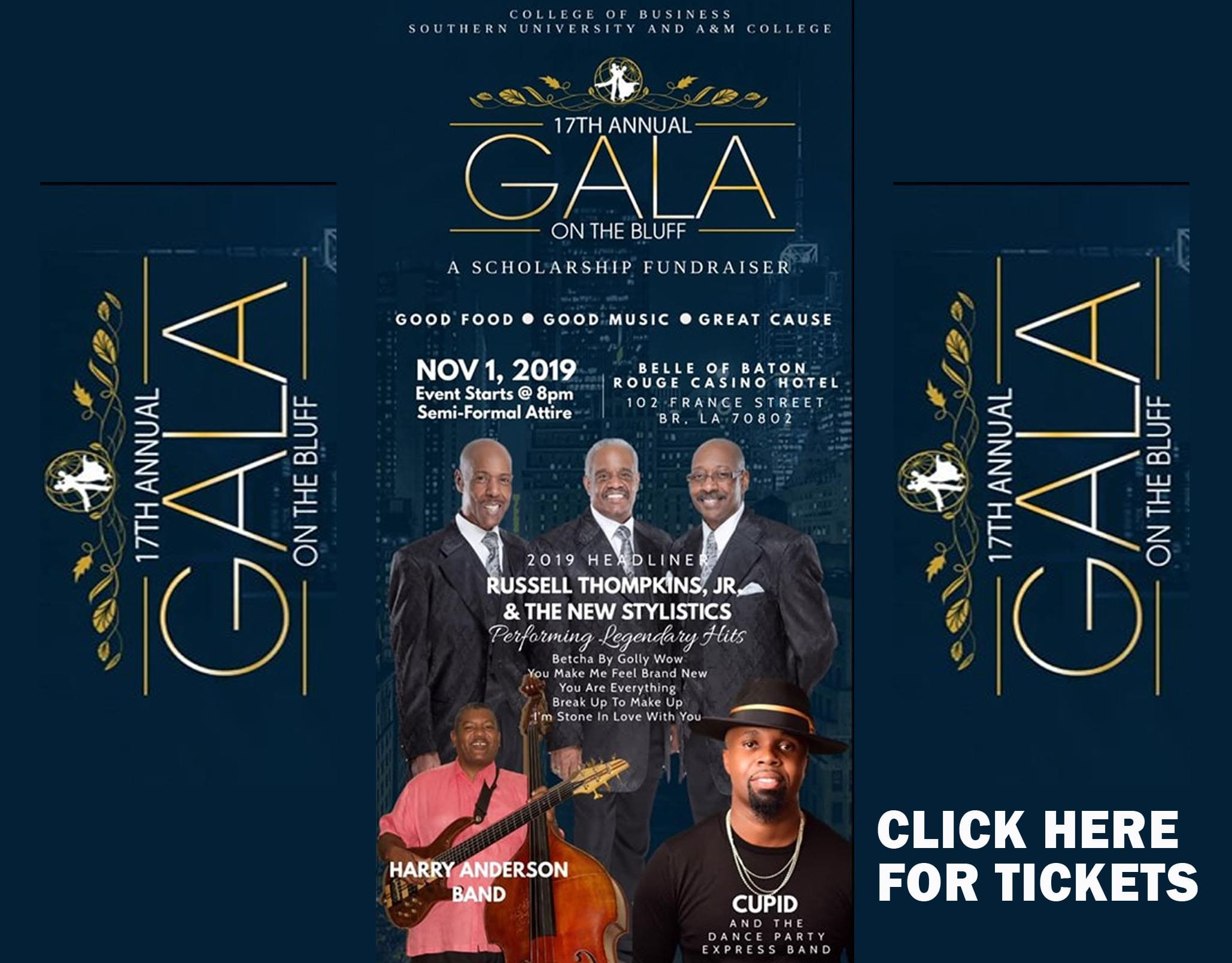 Win Tickets to Gala on the Bluff