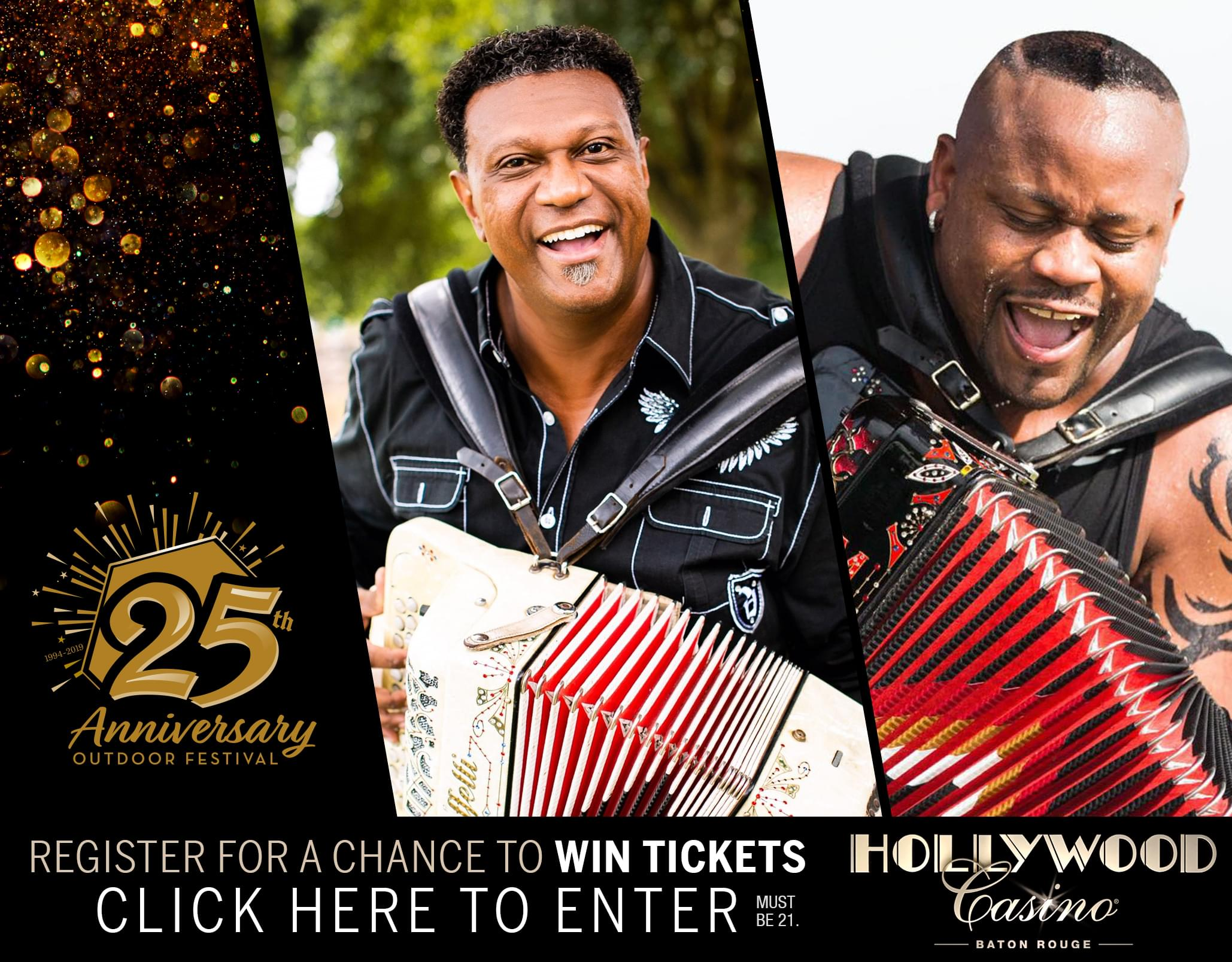Register to Win Tickets to the Hollywood Casino Outdoor Festival 25th Anniversary