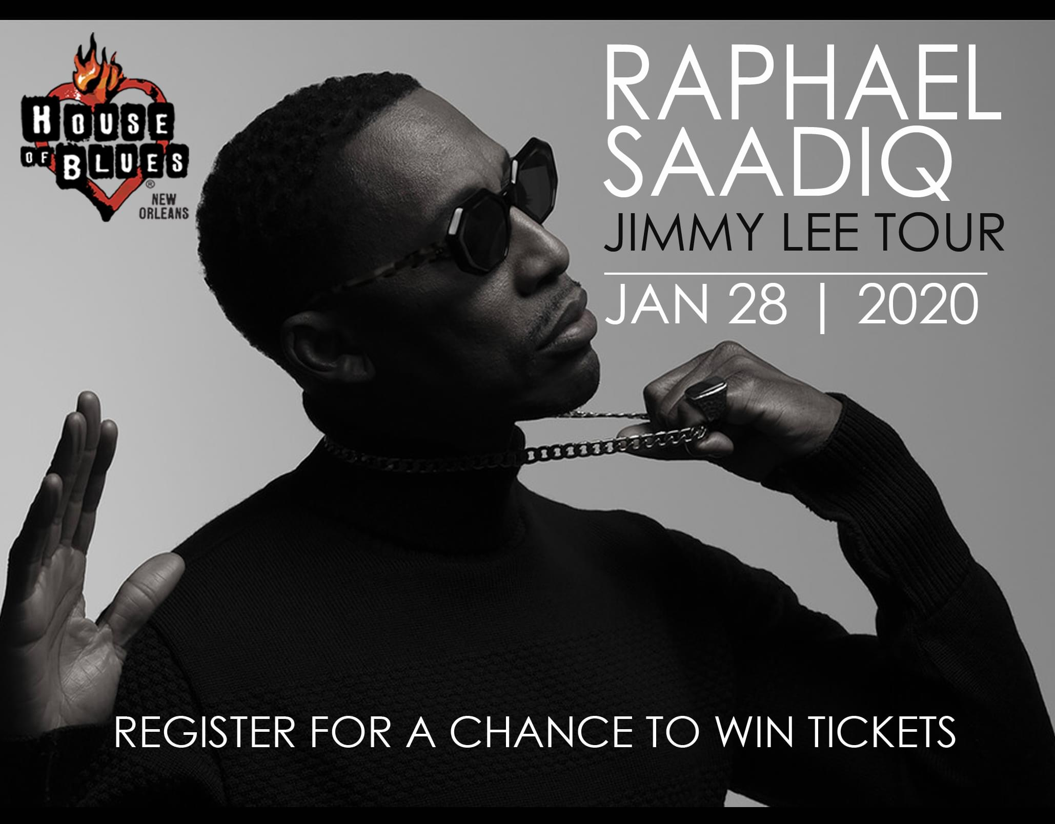 Win Tickets to see Raphael Saadiq