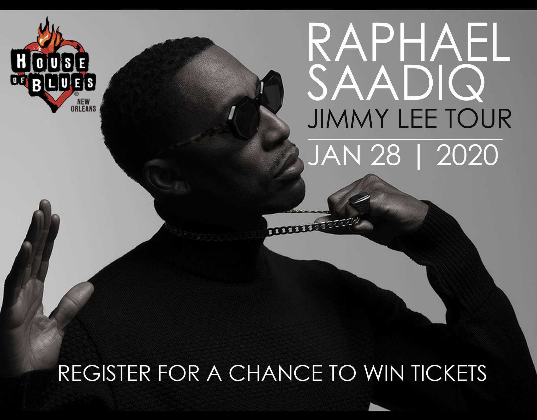 Win Tickets to see Raphael Saadiq