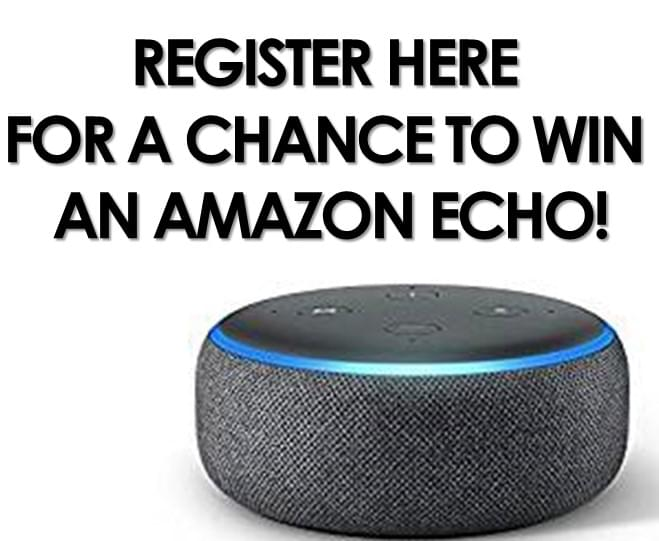 Enter to Win an Amazon Echo