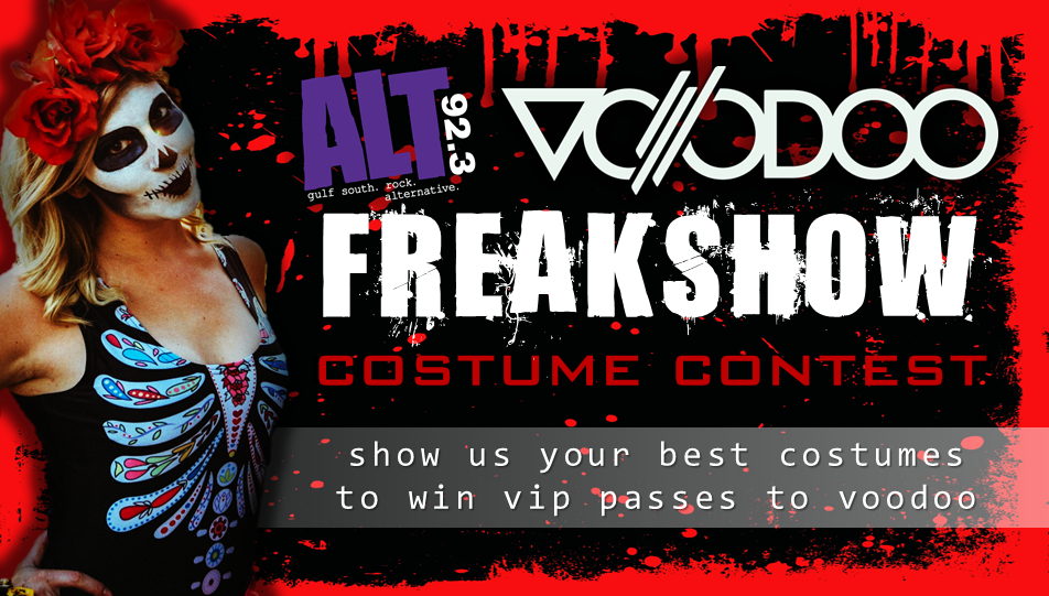 CONTEST: Voodoo 2019 Freakshow Costume Contest sponsored by Humbug Costumes